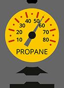 Propane Fuel Gauge